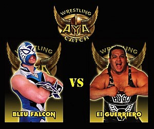 bleu falcon vs el guerriero